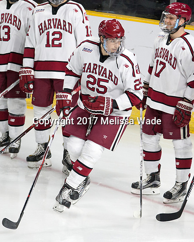 Wiley Sherman (Harvard - 25), Sean Malone (Harvard - 17) - The Harvard University Crimson defeated the Providence College Friars 3-0 in their NCAA East regional semi-final on Friday, March 24, 2017, at Dunkin' Donuts Center in Providence, Rhode Island.