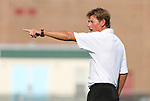 22 August 2008: Wake Forest head coach Jay Vidovich. The Wake Forest University Demon Deacons defeated the Virginia Commonwealth University Rams 2-1 at Fetzer Field in Chapel Hill, North Carolina in an NCAA Division I Men's college soccer game.