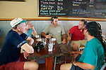 Dick, Jeanette, Lachie, Chris & Damian Enjoying The Local Refreshments