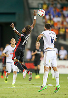 Washington, D.C. - Saturday, August 6, 2016: DC United tied the Philadelphia Union 2-2 in a MLS match at RFK Stadium..