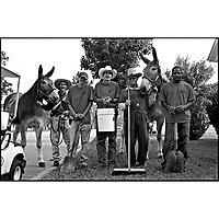 Clean up crew Mule Days, Benson, NC