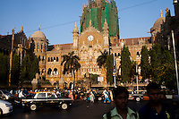 The Victoria Terminus in central Mumbai, India. Photo by Suzanne Lee