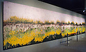 November 5th, 2011 : Tokyo, Japan &ndash; A huge painting is displayed during 2011 Tokyo Designers Week. It is held in Meiji Jingu Gaien, from November 1st to 6th. The theme of this year is &ldquo;Love/ARIGATO&rdquo;. Designers, artists, and organizations express their ideas and their creative works such as contemporary art, music, unique goods and workshops during this show. (Photo by Yumeto Yamazaki/AFLO)
