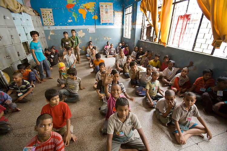 Street kids, New Delhi