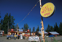 Gas Station, McLeod Lake, British Columbia, Canada