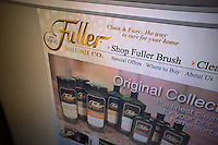 The 21st century website of the Fuller Brush Co., founded in 1906, is seen on Thursday, February 23, 2012. The company, known for its door-to-door salespeople, filed for Chapter 11 bankruptcy protection. (© Richard B. Levine)