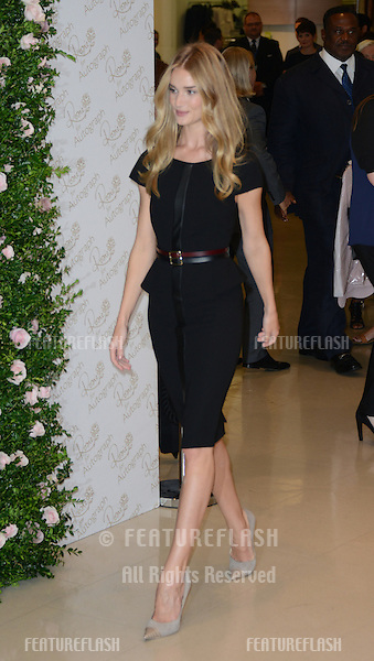 Rosie Huntington-Whiteley attends the launch for her lingerie collection for Marks & Spencer, 'Rosie for Autograph', London, UK. August 30, 2012..Picture: Catchlight Media / Featureflash
