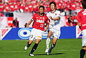Keita Suzuki (Reds), Yuya Osako (Antlers), OCTOBER 29, 2011 - Football / Soccer : 2011 J.League Yamazaki Nabisco Cup final match between Urawa Red Diamonds 0-1 Kashima Antlers at National Stadium in Tokyo, Japan. (Photo by AFLO)