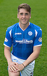St Johnstone FC Photocall, 2015-16 Season....03.08.15<br /> Gareth Rodger<br /> Picture by Graeme Hart.<br /> Copyright Perthshire Picture Agency<br /> Tel: 01738 623350  Mobile: 07990 594431