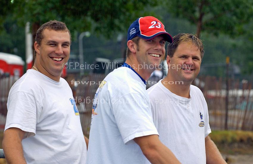 Garrett Armstrong, Vince Voisin and Kris Shepard.   (SST-120)