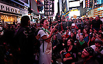 Occupy Wall Street Protest - global day of action - Times Square October 15-2011