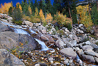 Alluvial Fan Waterfall - Rocky Mountain National Park