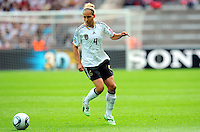 Babett Peter of Germany during the FIFA Women's World Cup at the FIFA Stadium in Berlin, Germany on June 26th, 2011.