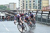 Picture by Alex Broadway/SWpix.com - 18/05/2017 - Cycling - Tour Series Round 5, Croydon - JLT Condor at the front.