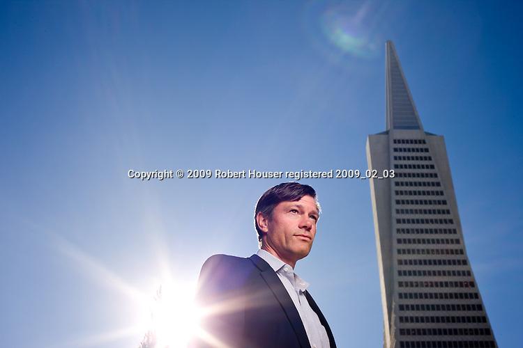 Jeffrey Ubben - Managing Partner - ValueAct Capital: Executive portrait photographs by San Francisco - corporate and annual report - photographer Robert Houser.