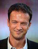Fussball Europa League Play Offs:  Saison   2012/2013     VfB Stuttgart - Dynamo Moskau  22.08.2012 Manager Fredi Bobic (VfB Stuttgart)