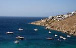 The island of Mykonos in Greece