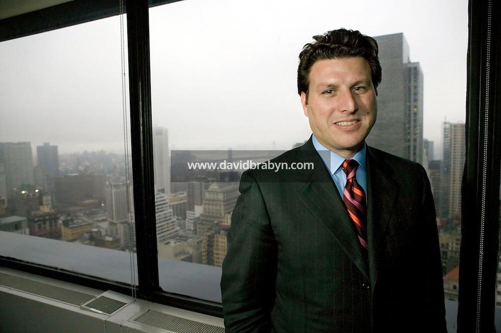 14 February 2005 - New York City, NY - (FILE) New York City Chief Marketing Officer and President of NYC Marketing - officially known as the New York City Marketing Development Corporation - Joseph Perello poses in his offices in New York City, USA, 14 February 2005.