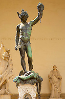 Statue Of Perseus with the head of Medusa  by Cellini - The Loggia - Florence - Italy
