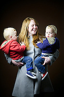 Amy Howard, 34, mum of twins, from Edinburgh.<br /> <br /> 'The boys have dodged the ginger bullet. I grew up in England but now I feel its part of my identity. My hair has not been as red since I dyed it at school. I was blonde for a long time then black. It's not as red as it was.' <br /> <br /> In one class photo there was a bright orange curtain and it was lucky I wasn't on the back row or I would have been camouflaged. It's water off a duck's back today because of the bullies.'<br /> <br /> 'My rebellious post school anti-parent thing was to go blonde&hellip; I needed to use bleach which made it go curly. It takes a lot of bleach to dye red hair.'<br /> <br /> 'The boys are very blonde so I wonder if there is some scandinavian blood. Dad and granny was strawberry blonde. When I came back to Scotland I was 21 and blonde. The wonderful thing about living here is it makes me feel more Scottish.'