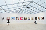 Annual Contemporary Art fair Frieze in New York