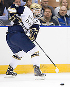 Joe Lavin (Notre Dame - 33) - The University of Notre Dame Fighting Irish defeated the University of New Hampshire Wildcats 2-1 in the NCAA Northeast Regional Final on Sunday, March 27, 2011, at Verizon Wireless Arena in Manchester, New Hampshire.