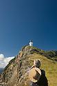 Mokohinau Island hike to lighthouse.  Burgess and Great Barrier Islands, New Zealand