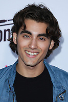 SANTA MONICA, CA, USA - OCTOBER 08: Blake Michael arrives at the Vevo CERTIFIED SuperFanFest held at Barkar Hangar on October 8, 2014 in Santa Monica, California, United States. (Photo by David Acosta/Celebrity Monitor)