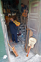 Enrique, the Guitar Artisan of Bogota - Calle de los Mandolinas - Bogota - Colombia