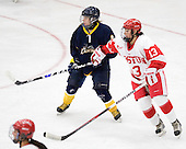 Candace Kourounis (Windsor - 9), Kaleigh Fratkin (BU - 13) - The Boston University Terriers defeated the visiting University of Windsor Lancers 4-1 in a Saturday afternoon, September 25, 2010, exhibition game at Walter Brown Arena in Boston, MA.
