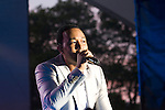 John Legend performs at the 2010 Seaside Summer Concert Series Hosted by Brooklyn Borough President Marty Markowitz