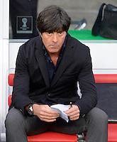FUSSBALL WM 2014                ACHTELFINALE Deutschland - Algerien               30.06.2014 Bundestrainer Joachim Loew (Deutschland)