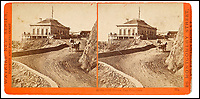 BNPS.co.uk (01202 558833)<br /> Pic: Bonhams/BNPS<br /> <br /> At the Cliff House, San Francisco.<br /> <br /> A stunning collection of photos of San Francisco in the 1860s have been unearthed after 150 years.<br /> <br /> The fascinating images show the distinctive street scenes of the city 70 years before the iconic Golden Gate Bridge became its most celebrated landmark and 50 years before the infamous Alcatraz prison was built.<br /> <br /> Included in the collection of 247 images are photos of the Golden Gate, Alcatraz, Russian Hill, the Waterfront and Woodward's Gardens.<br /> <br /> The city which is universally known for its treacherously steep hills and spectacular scenery was captured in all its glory by American photographer Carleton E. Watkins.