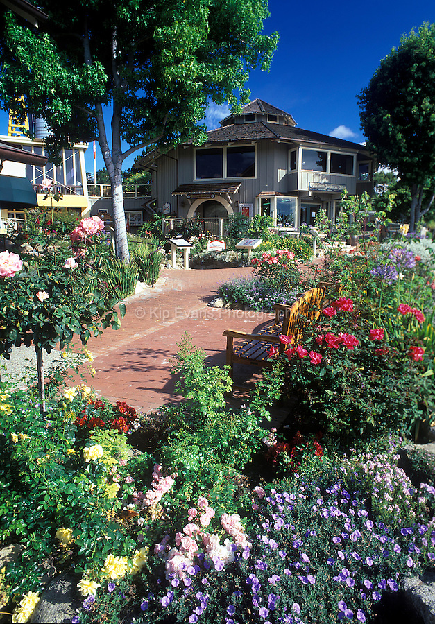 The Barnyard Shopping Village in Carmel, California.