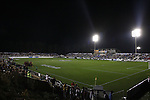 1 December 2006: A full stadium during a first half timeout. The University of Notre Dame Fighting Irish defeated Florida State Seminoles 2-1 at SAS Stadium in Cary, North Carolina in an NCAA Division I Women's College Cup semifinal game.