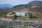 Hydroelectric power station, Northern Vietnam