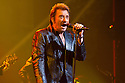 French rocker Johnny Hallyday performing at The Beacon Theater, October 7, 2012
