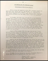 BNPS.co.uk (01202 558833)<br /> Pic: AdamPartridge/BNPS<br /> <br /> Sergeants Denys Chapman and Kenneth Leach's recommendation for immediate awards from the Wing Commander of 235 Squardon.<br /> <br /> The little-known story of a heroic Second World War pilot and navigator duo who were the real life version of Maverick and Goose from 80s film Top Gun has emerged after more than 70 years.<br /> <br /> Sergeants Denys Chapman and Kenneth Leach were both awarded a Distinguished Flying Medal - one of the air force's top awards - for their bravery fighting enemy aircraft in the 1940s.<br /> <br /> Unusually, Sergeant Leach got his when Command tried to give a second DFM to Sgt Chapman but he refused and insisted it go to his flying buddy for saving his life. <br /> <br /> The rare and important medals are now going up for sale together with Adam Partridge Auctioneers in Macclesfield, Cheshire.