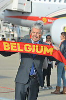 "The "" Diables Rouges "" depart to Croatia for the soccer World Cup qualifications - Belgium"
