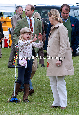 "LADY LOUISE WINDSOR AND MUM SOPHIE, COUNTESS OF WESSEX.enjoy a family day out at the Royal Windsor Horse Show..Lady Louise spent some time in the fairground trying her hand at darts_14/05/2011.Mandatory Photo Credit: ©DIasImages..**ALL FEES PAYABLE TO: ""NEWSPIX INTERNATIONAL""**..PHOTO CREDIT MANDATORY!!: ©DiasImages/NEWSPIX INTERNATIONAL(Failure to credit will incur a surcharge of 100% of reproduction fees)..IMMEDIATE CONFIRMATION OF USAGE REQUIRED:.Newspix International, 31 Chinnery Hill, Bishop's Stortford, ENGLAND CM23 3PS.Tel:+441279 324672  ; Fax: +441279656877.Mobile:  0777568 1153.e-mail: info@newspixinternational.co.uk"