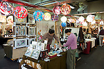 The Taipei Artists' Market is just south of the Taipei Flower Market.  Many hand made crafts can be found here.