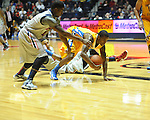 "Ole Miss vs. McNeese State at the C.M. ""Tad"" Smith Coliseum in Oxford, Miss. on Tuesday, November 20, 2012. .."