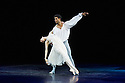 London, UK. 10.06.2014. Tamara Rojo and Carlos Acosta, from English National Ballet, in dress rehearsal for ROMEO AND JULIET, in the round, in the Royal Albert Hall. Photograph © jane Hobson.