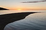 Rakiraki, Viti Levu, Fiji; the sandbar in front of Volivoli Beach Resort at sunset , the northern most point of Viti Levu Island