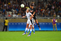 Belo Horizonte, Brazil - Wednesday, August 3, 2016: The USWNT go up 2-0 over New Zealand in Group G play during the 2016 Olympics at Mineirão stadium.