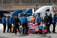 20-21 Febuary, 2012 Birmingham, Alabama USA.Chip Ganassi Teams on pit lane..(c)2012 Scott LePage  LAT Photo USA