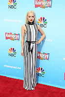 UNIVERSAL CITY, CA - NOVEMBER 16: Dove Cameron attends the press junket for NBC's 'Hairspray Live!' at the NBC Universal Lot on November 16, 2016 in Universal City, California (Credit: Parisa Afsahi/MediaPunch).