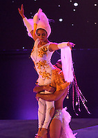 BARRANQUILLA-COLOMBIA- 22-01-2017. Con la Lectura del Bando, la Reina del Carnaval de Barranquilla 2017, Stephanie Mendoza Vargas, comenzó a mandar desde la noche de este sábado, tras un soberbio espectáculo dancístico musical. El evento se realizó en la Plaza de La Paz. / With Reading Bando, the Barranquilla Carnival Queen 2017, Stephanie Mendoza Vargas, began to command from this Saturday night after a superb show's dance musical. The event was held at the Plaza de La Paz en Barranquilla, Colombia. Photo: VizzorImage / Alfonso Cervantes / Cont.