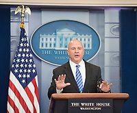 WASHINGTON, DC - MAY 12:  US National Security Advisor, H.R. McMaster speaks  to reporters at the White House daily press briefing in Washington DC.  on May 12,2017. Credit: Patsy Lynch/MediaPunch
