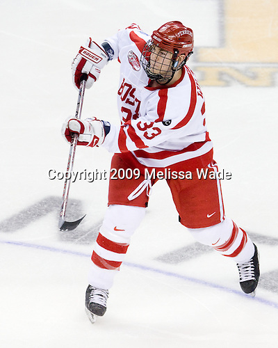 - The Boston University Terriers defeated the Miami University RedHawks 4-3 in overtime to win the 2009 NCAA D1 National Championship at the Frozen Four on Saturday, April 11, 2009, at the Verizon Center in Washington, DC.